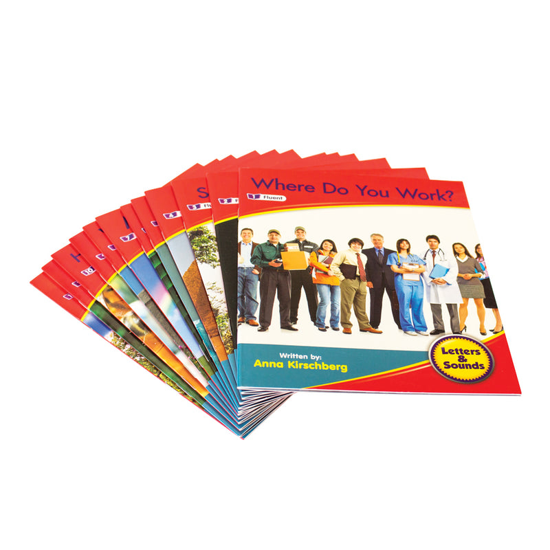 Letters and Sounds Phase 6 Set 1 Non-Fiction - 6 Pack
