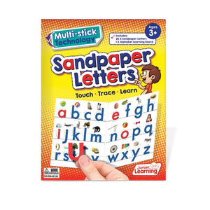 Multi-stick Sandpaper Letters