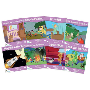 Fantail Readers Level 1 - Lilac Fiction