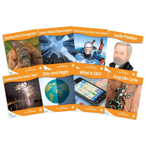 Fantail Readers Level 7 - Orange Non-Fiction