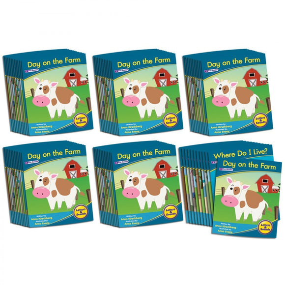 Decodable Readers Phase 1 - Phonemic Awareness Fiction (6-Pack)