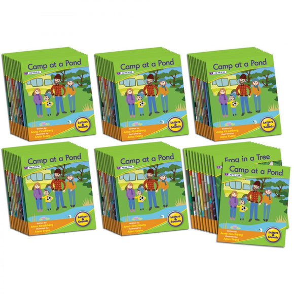 Decodable Readers Phase 4 - Blend Fiction (6-Pack)