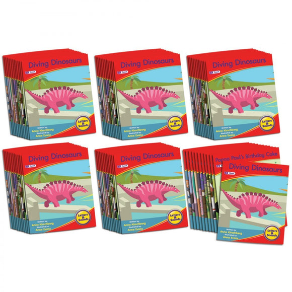 Letters & Sounds Phase 6 Set 1 Fiction - 6 Pack