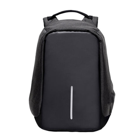 leather backpack Laptop Anti Thief Waterproof Resistant Travel bag