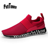 Slip On Mens Running Shoes Light Mesh