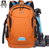 SINPAID Photo Ultra Durable Wear-resistant Waterproof Anti-theft Prevent Vibration Travel Camera Bag