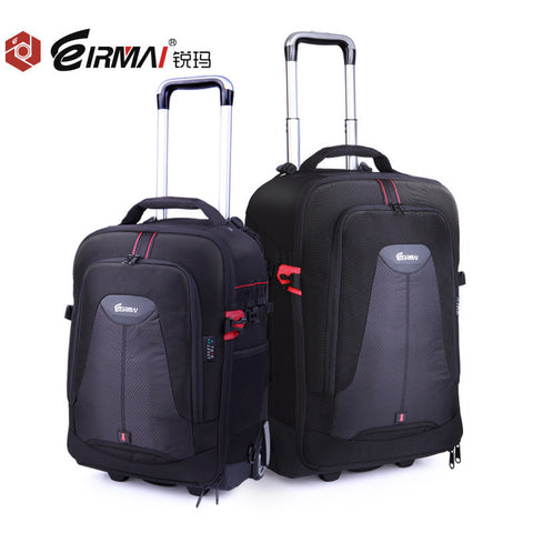 EIRMAI Photo SLR Trolley Case Camera Nylon Bag Waterproof