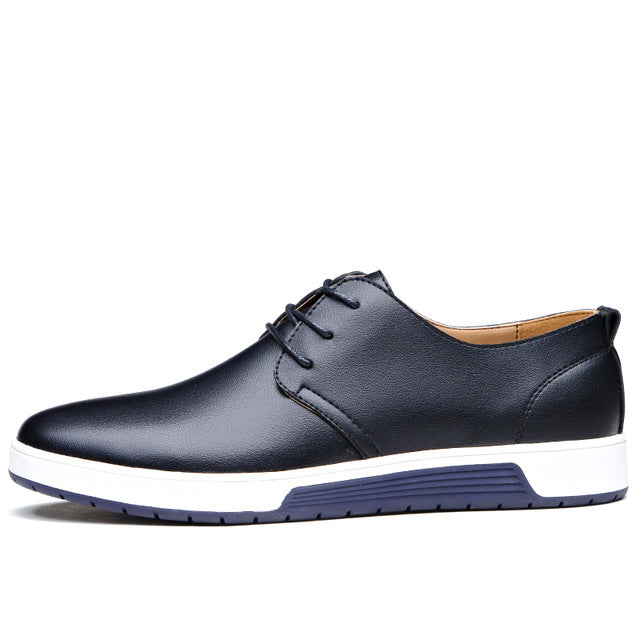 c13c7d3b056a5 Misalwa New 2018 Men Casual Shoes Leather – RKT Style