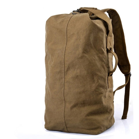 Pure Cotton Canvas Backpack Large Duffel Bags