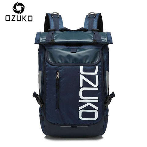 OZUKO Brand Travel Backpack 2018 14-15 inch Laptop