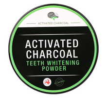 Load image into Gallery viewer, Activated Coconut Charcoal All Natural Teeth Whitening Powder