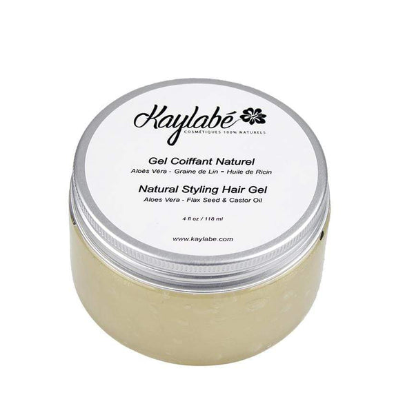 Natural stylling hair gel