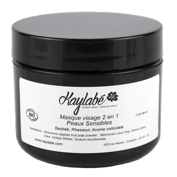 Kaylabé Health & Beauty > Personal Care > Cosmetics > Skin Care > Skin Care Masks & Peels Masque visage - Peau sensible