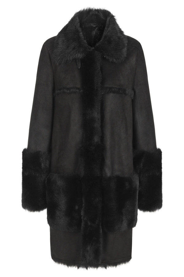 Oversized Shearling Coat (1600403013693)