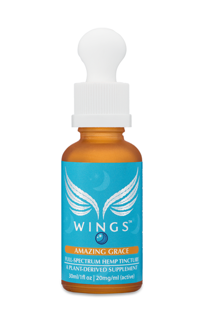 AMAZING GRACE NIGHTTIME WINGS Tinctures