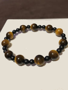 Tigers Eye & Obsidian