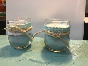 Crystal Infused Candles Hand Made
