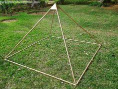 Meditation Pyramid Copper Corners and Capstone only