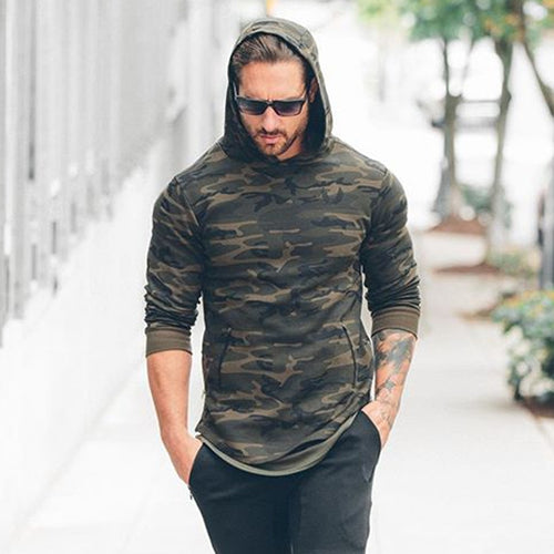 Camouflage Pullover Hoodie