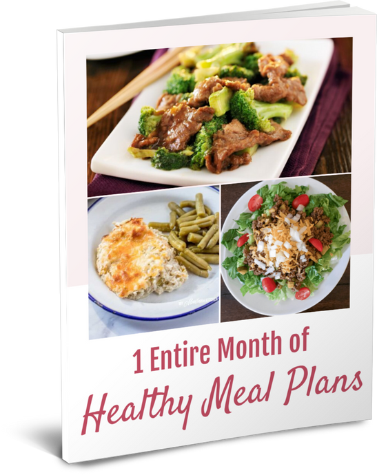 One Month Meal Plan Bundle