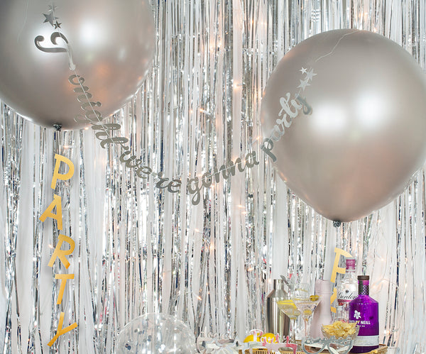 Balloon Swags - Easy but Fabulous