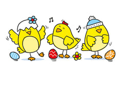 Easter Chicks finished Drawing