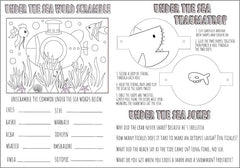 Under the Sea Activity Sheet & Colouring