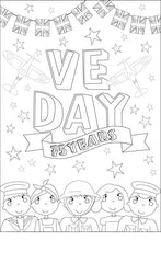 VE Day 75 Years Poster