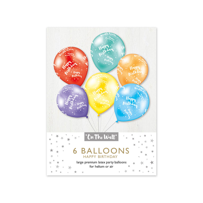 Happy Birthday 12-inch Balloons