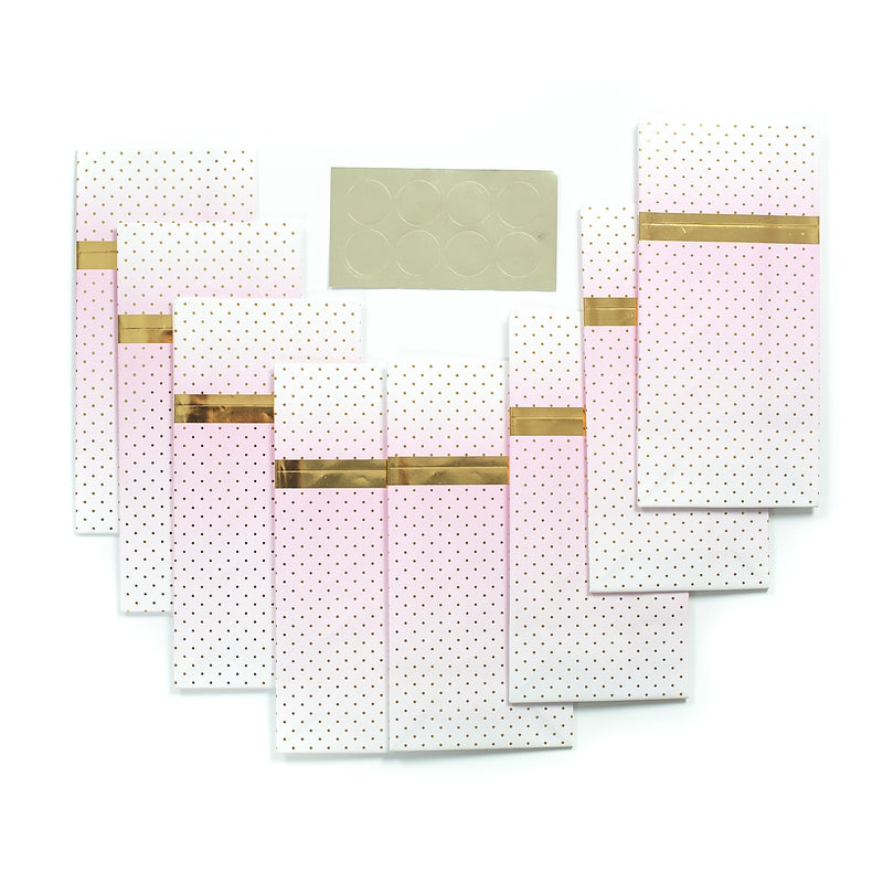 Pink Ombre Treat Bags - 8 Pack