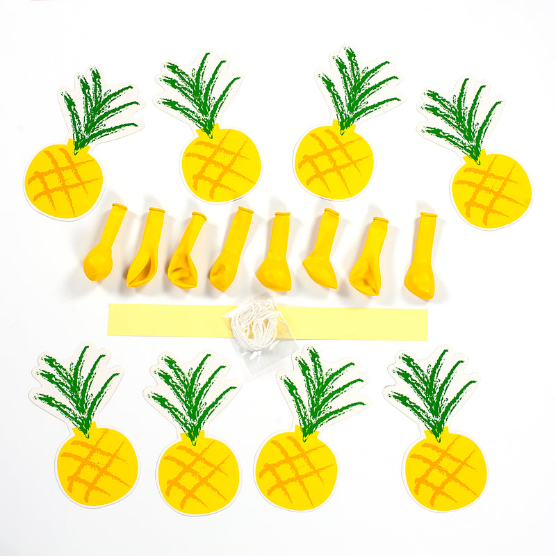 Make Your Own Pineapple Balloon Garland Kit