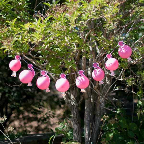 Make Your Own Flamingo Balloon Garland Kit