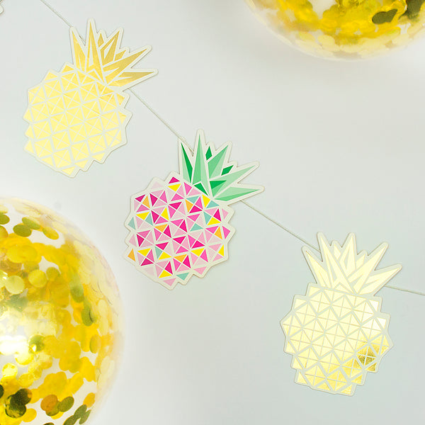 Make Your Own Pineapple Garland Kit