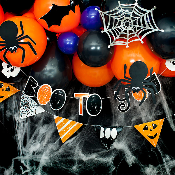 Halloween Boo to You Stitched Garland