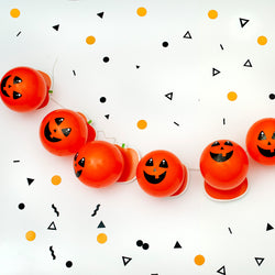 Craft Halloween Pumpkin Garland Kit