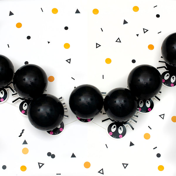 Craft Halloween Spider Balloon Garland Decoration