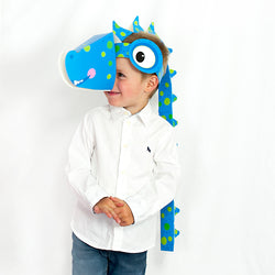 Fancy Dress Heads  - Dinosaur