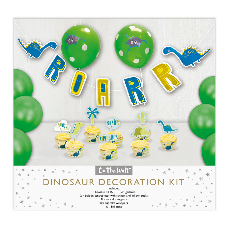 Dinosaur Decorations Kit