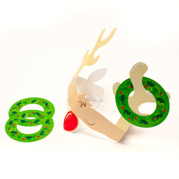 Reindeer Antler Hoopla Christmas Game