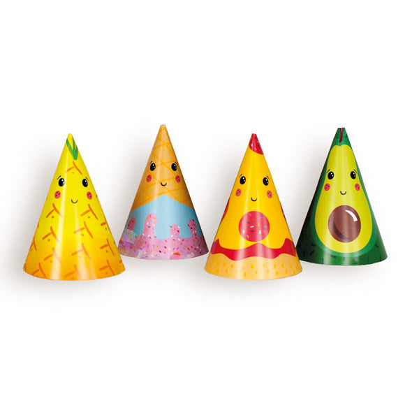 Food Character Party Hats