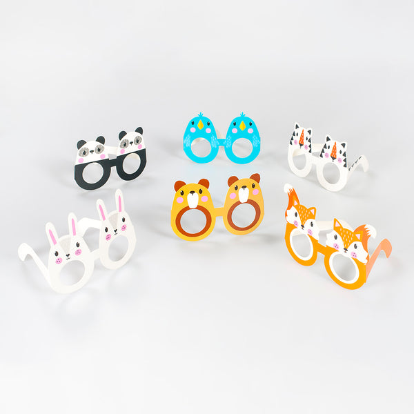 Animal Faced Fun Glasses