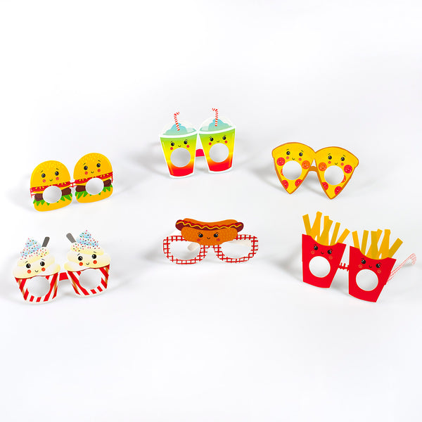 Food Faced Fun Glasses