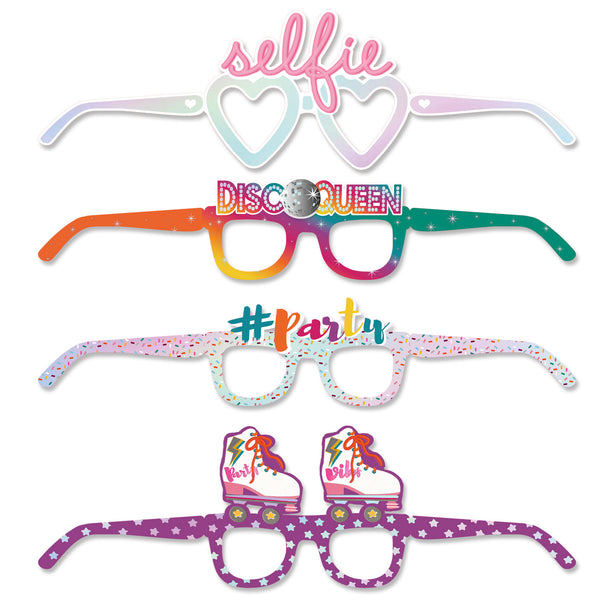 Retro Disco Party Fun Glasses