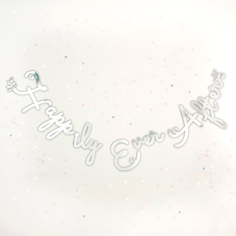 Happily Ever After Stitched Garland