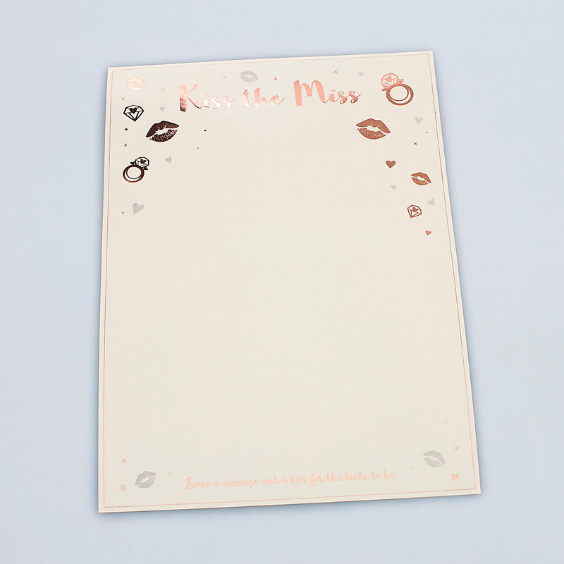 Kiss the Miss Keepsake Poster