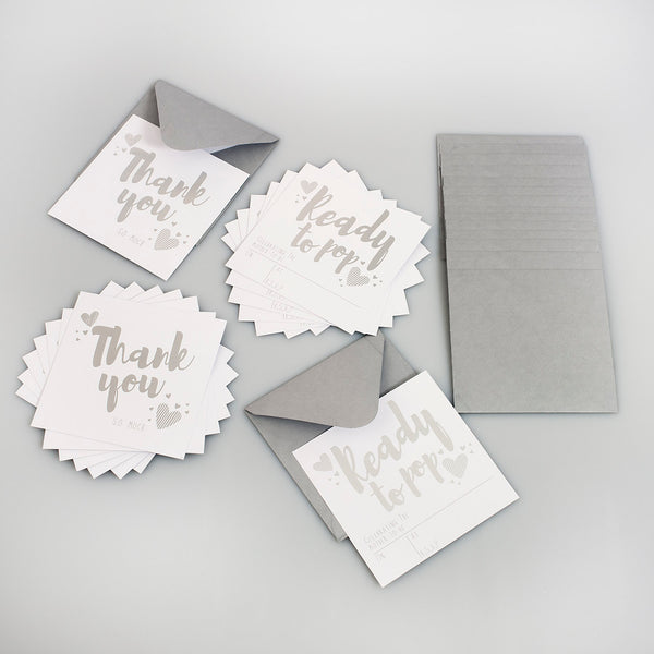Invites & Thank you - Ready to Pop
