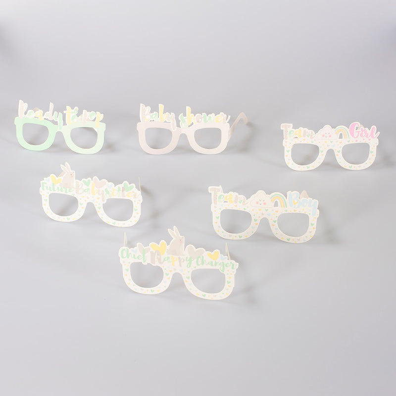 Baby Shower Photo Prop Glasses