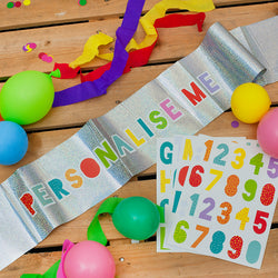 Personalised Foil Birthday Banner