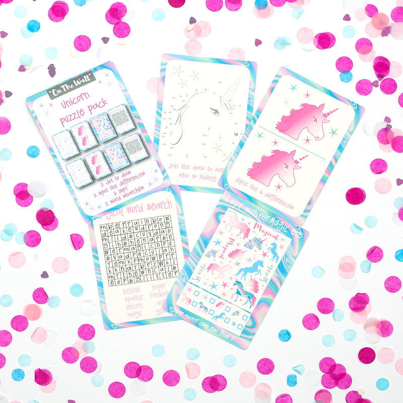 Unicorn Game Card Booklets