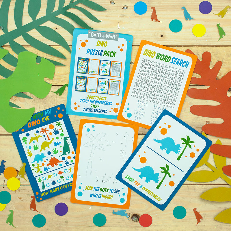 Dinosaur Game Card Booklets